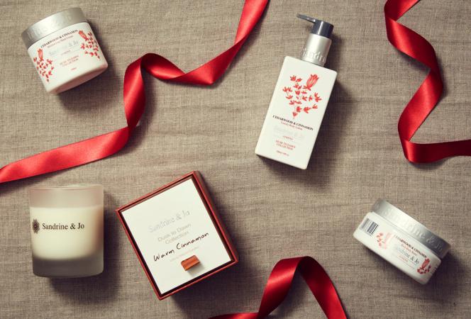 """ギリシャの""""Sandrine & Jo""""よりクリスマスらしい香り「Warm Cinnamon」"""