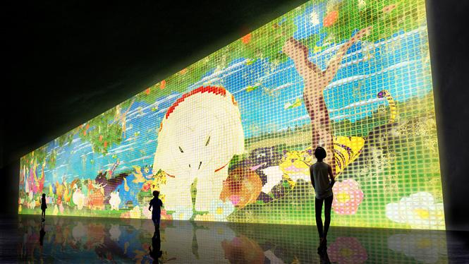 『Nirvana』(2013年)伊藤若冲の作品をモチーフにしたアニメーション作品