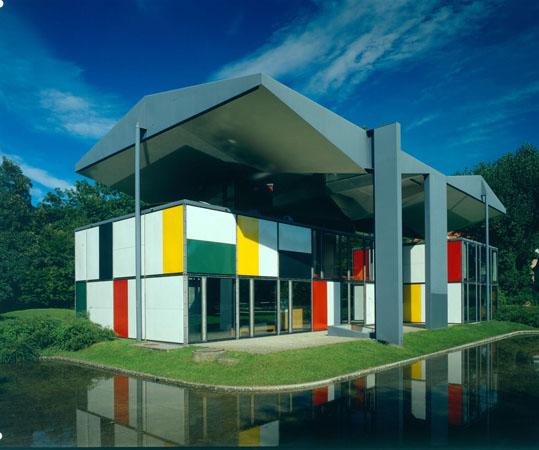 ル・コルビュジエ『ル・コルビュジエ・センター』(1967年竣工)©FLC
