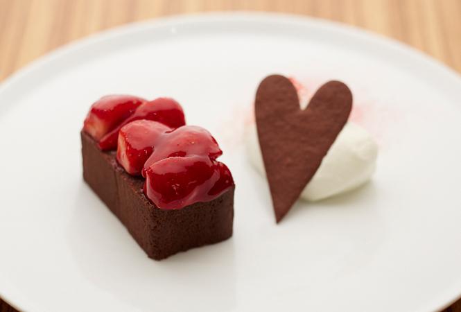 和と洋のマリアージュ。TORAYA CAFÉからバレンタインメニューが登場