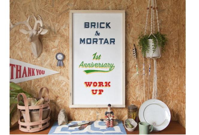 「ブリック&モルタル」がオープン1周年を記念したイベントを開催