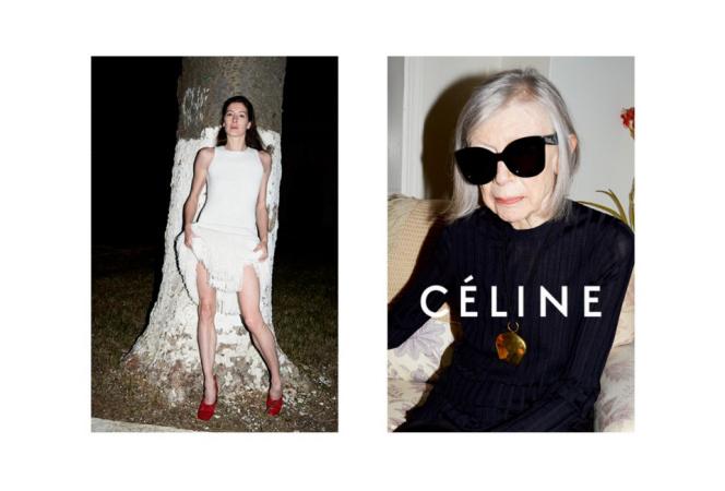 ユルゲン・テラーによるCÉLINE 2015年春夏コレクション広告キャンペーン