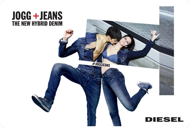 今季はエッジの効いたデニムで勝負! DIESELのハイブリッドデニム「JoggJeans」