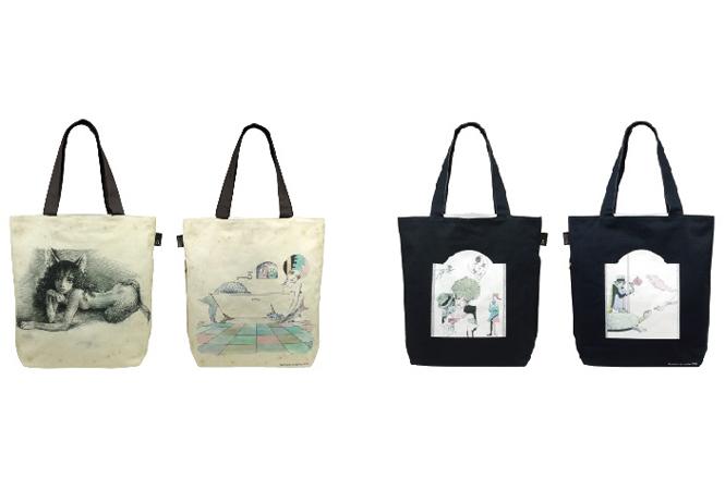 アートなトートバッグで出かけよう! 宇野亞喜良氏×ルートートのコラボバッグが発売