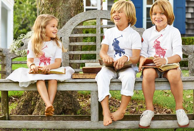 ラルフ ローレンが世界中の子供たちの識字率向上を目指す活動をサポート