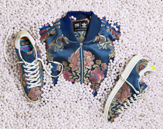 「adidas Originals = PHARRELL WILLIAMS」JACQUARD Pack