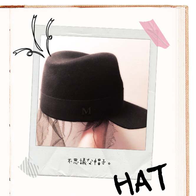 不思議な帽子