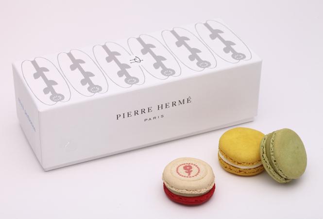 PIERRE HERMÉ PARISとminä perhonenがコラボしたマカロンギフトが発売