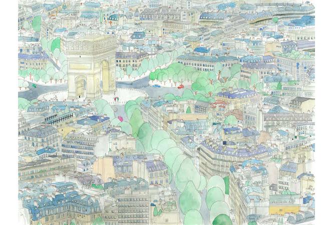 """ロンドン、パリ、ニューヨークへ。吉川有悟の """"旅する"""" 個展、シャネル・ネクサス・ホールにて。"""