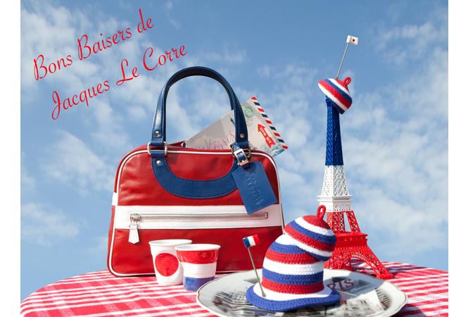 デザイナーのエスプリに思いを馳せて。JACQUES LE CORREのパリシックな新作バッグ