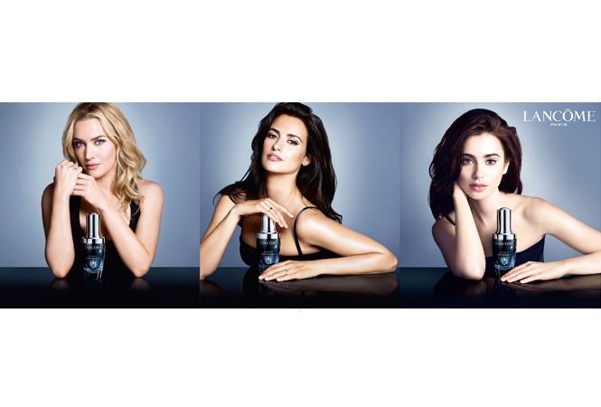 ランコムの広告キャンペーンに今ときめく豪華3女優が集結!