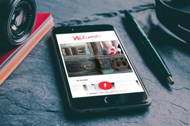クリスチャン ルブタンの世界観を体験できるiPhone用アプリ
