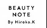 beauty note by hiroko.k