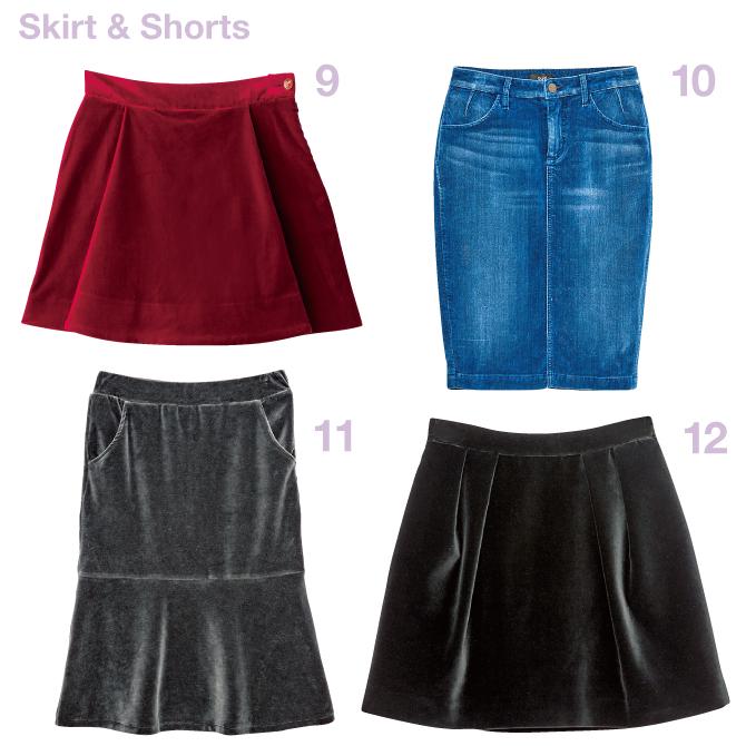 Skirt & Shorts