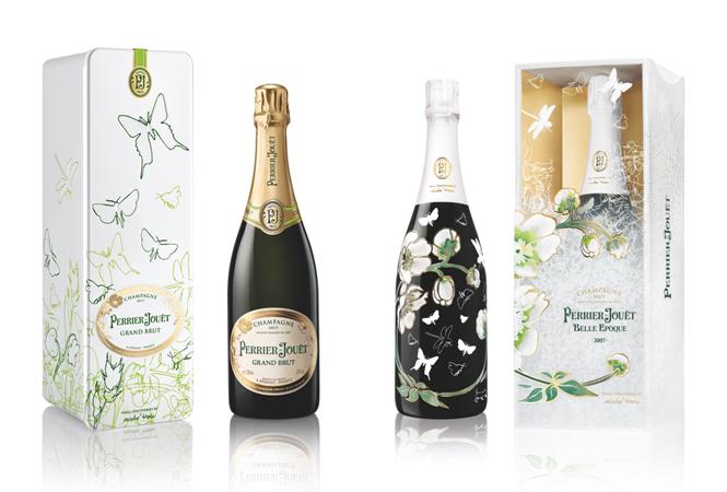 ホリデーシーズンを彩る華やかなボトルにくぎ付け。ペリエ ジュエから限定パッケージが発売。