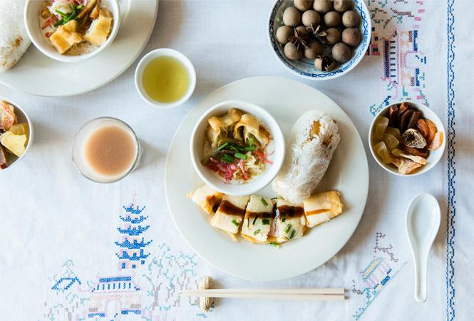 1、2月のテーマは「台湾」。人気の朝ごはんメニューをワンプレートで