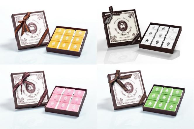 サンタ・マリア・ノヴェッラがハーブの香りのチョコレートを発売