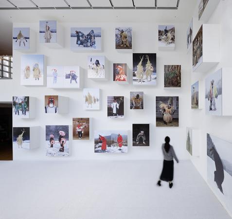 展示風景より © Nacása & Partners Inc. / Courtesy of Fondation d'entreprise Hermès