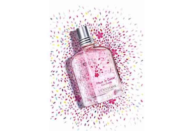 恋に効く、甘く繊細な桜の香り。ロクシタンより新しいフレグランスが登場