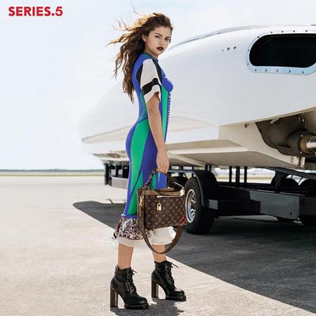 Selena Gomez Louis Vuitton Nicholas Ghesquiere