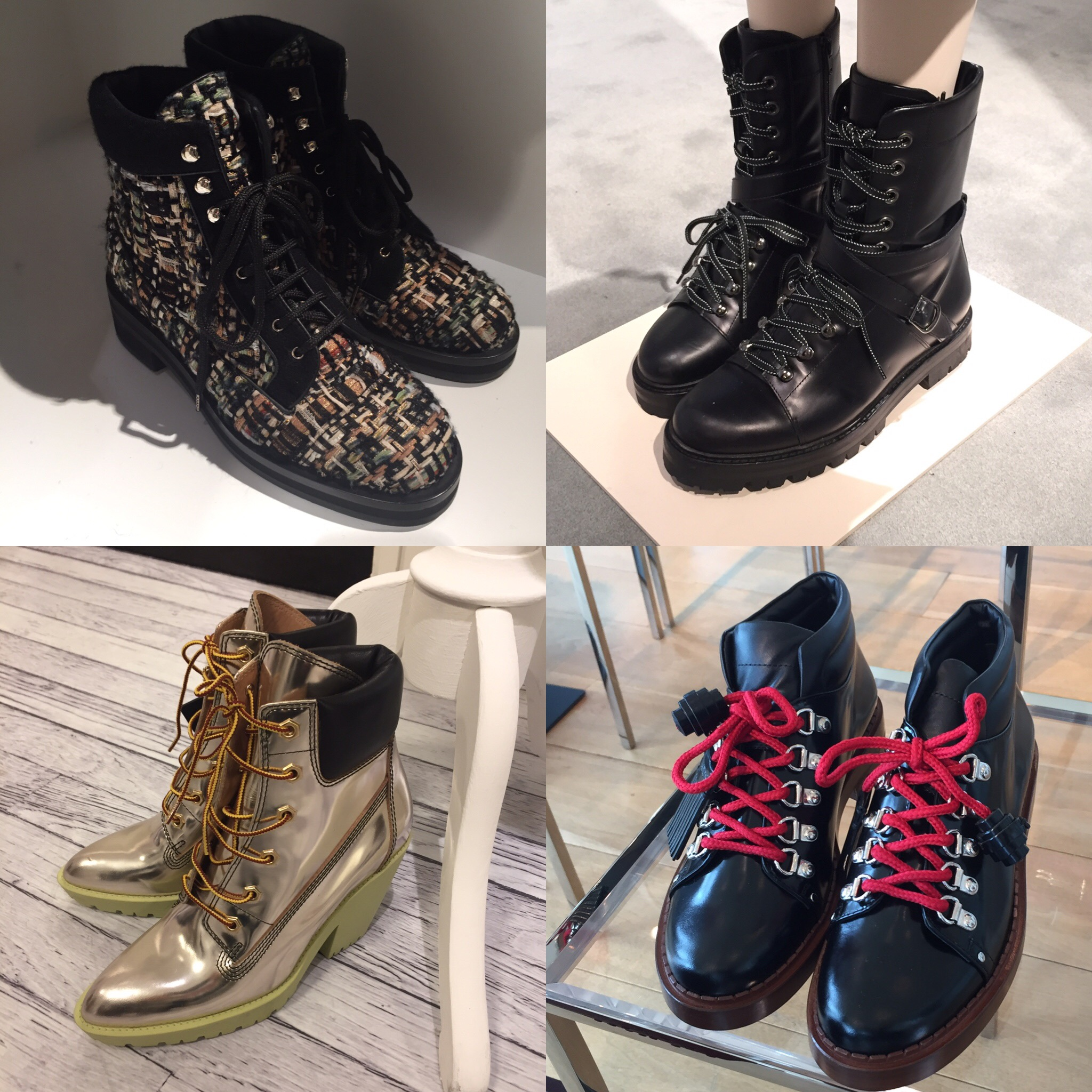 chanel  valentino tods maisonmargiela mountainboots