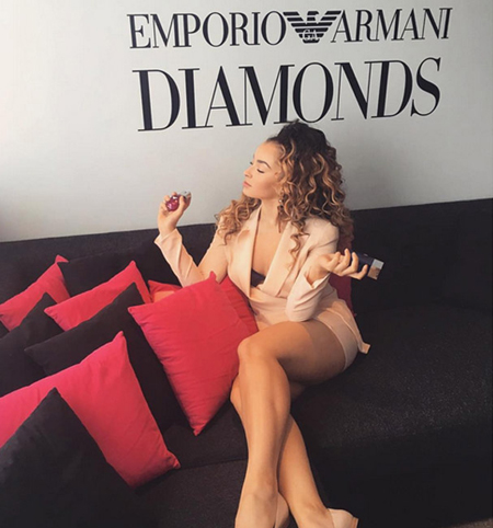 Ella Eyre, Emporio Armani Diamonds Club