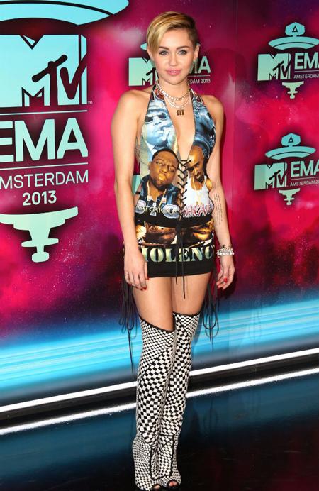 Miley Cyrus, Woody Allen