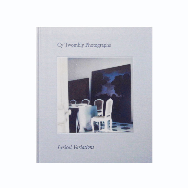 book cytwombly photograph
