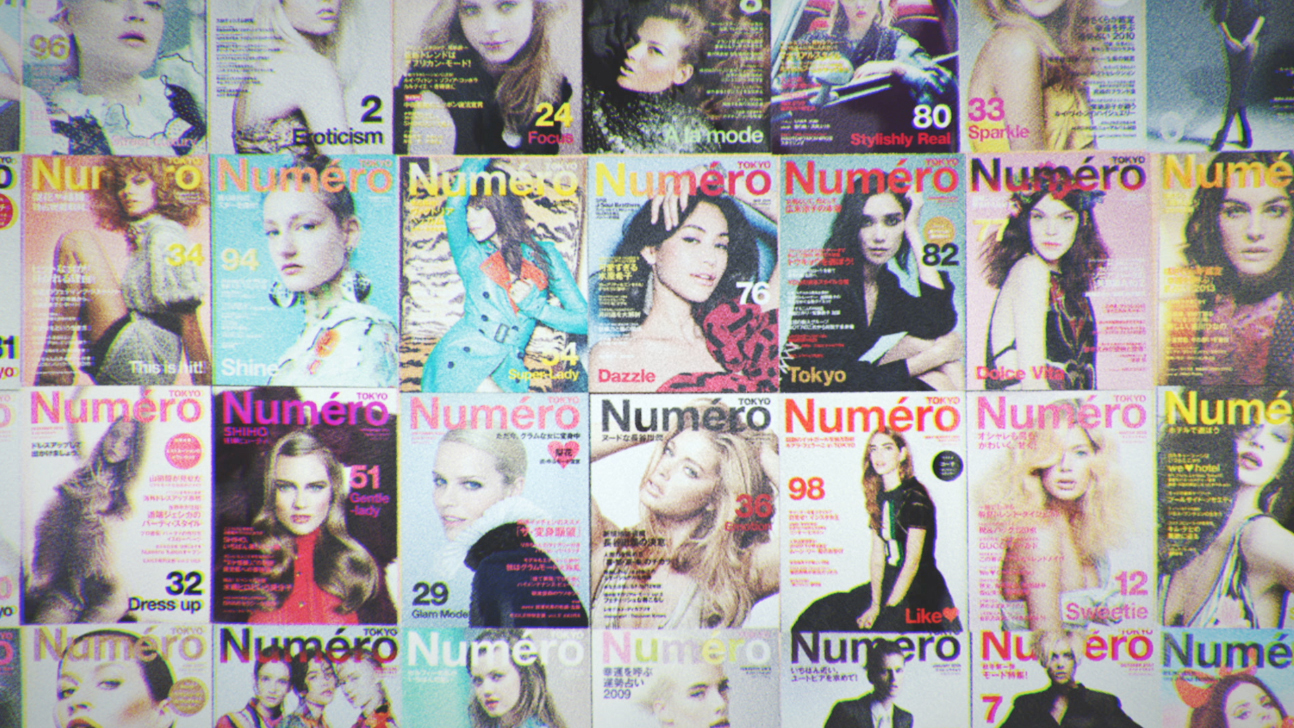 numerotokyo magazine fashion