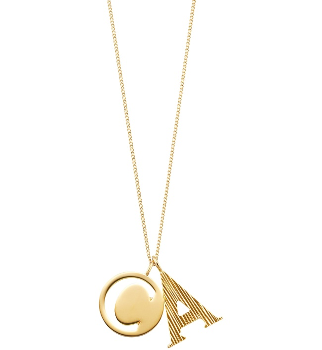 7. ALPHABET necklace
