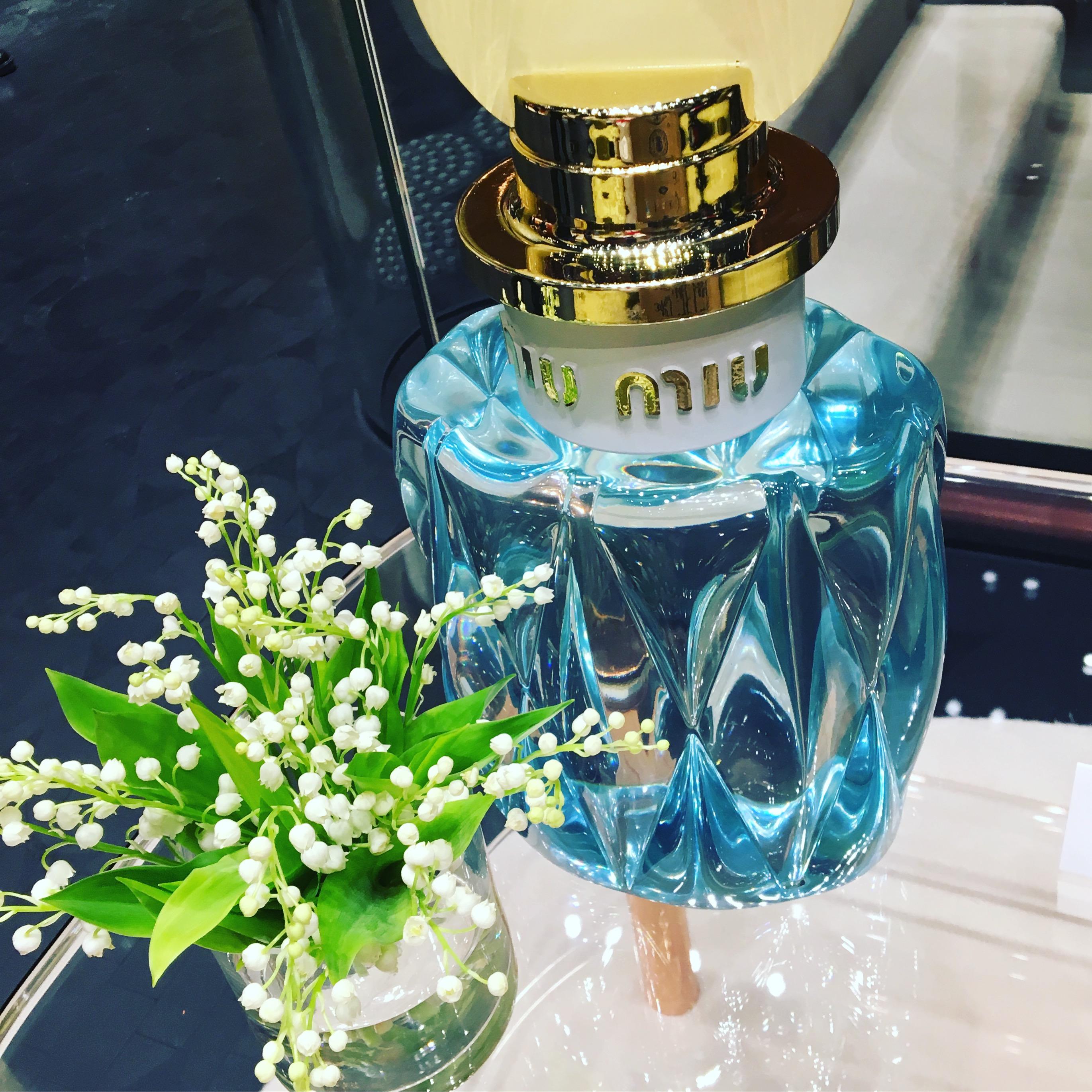 煌めく春の香り。Miu Miuの2作目の香水がもうすぐデビュー。