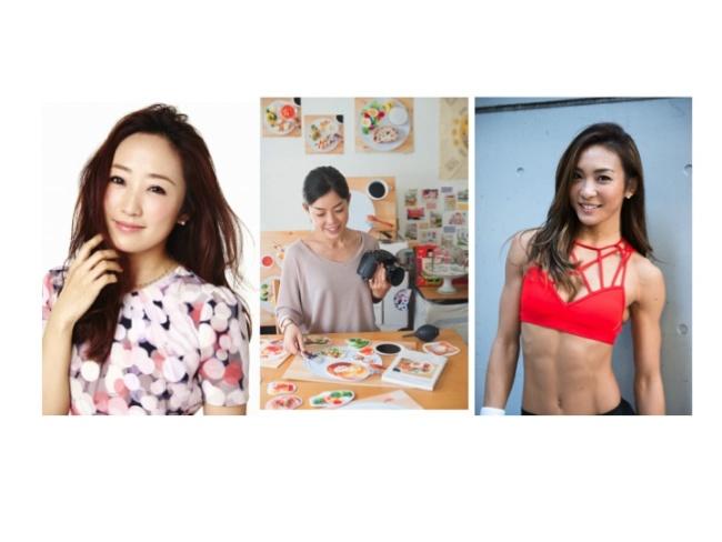 左から:神崎恵、山崎佳、AYA