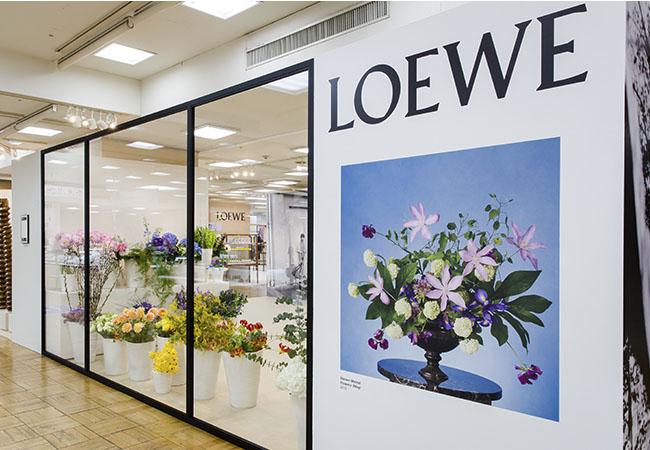 LOEWE, jwanderson, flowers, Steven Meisel