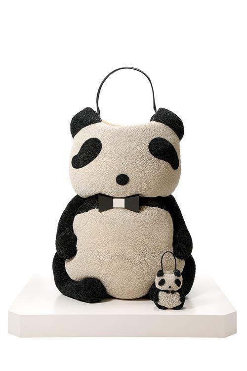 Anteprima/Wirebag, panda