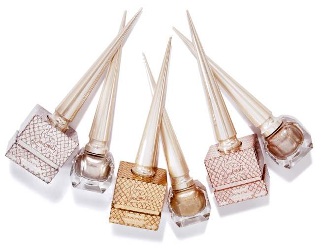 CHRISTIAN LOUBOUTIN METALINUDES NAIL GROUP W/ SECONDARY