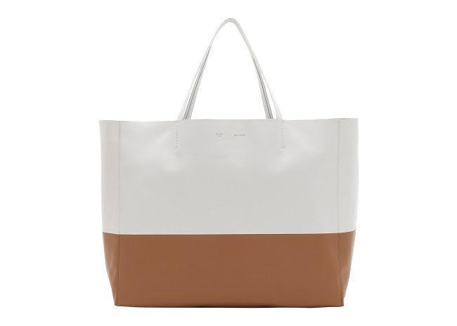 Cabas(White, Tan)