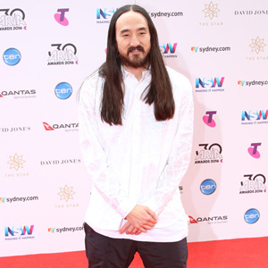 Steve Aoki at The 2016 ARIA Awards Sydney Australia 23rd Nov 2016