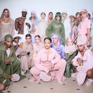 backstage FENTY x PUMA by Rihanna