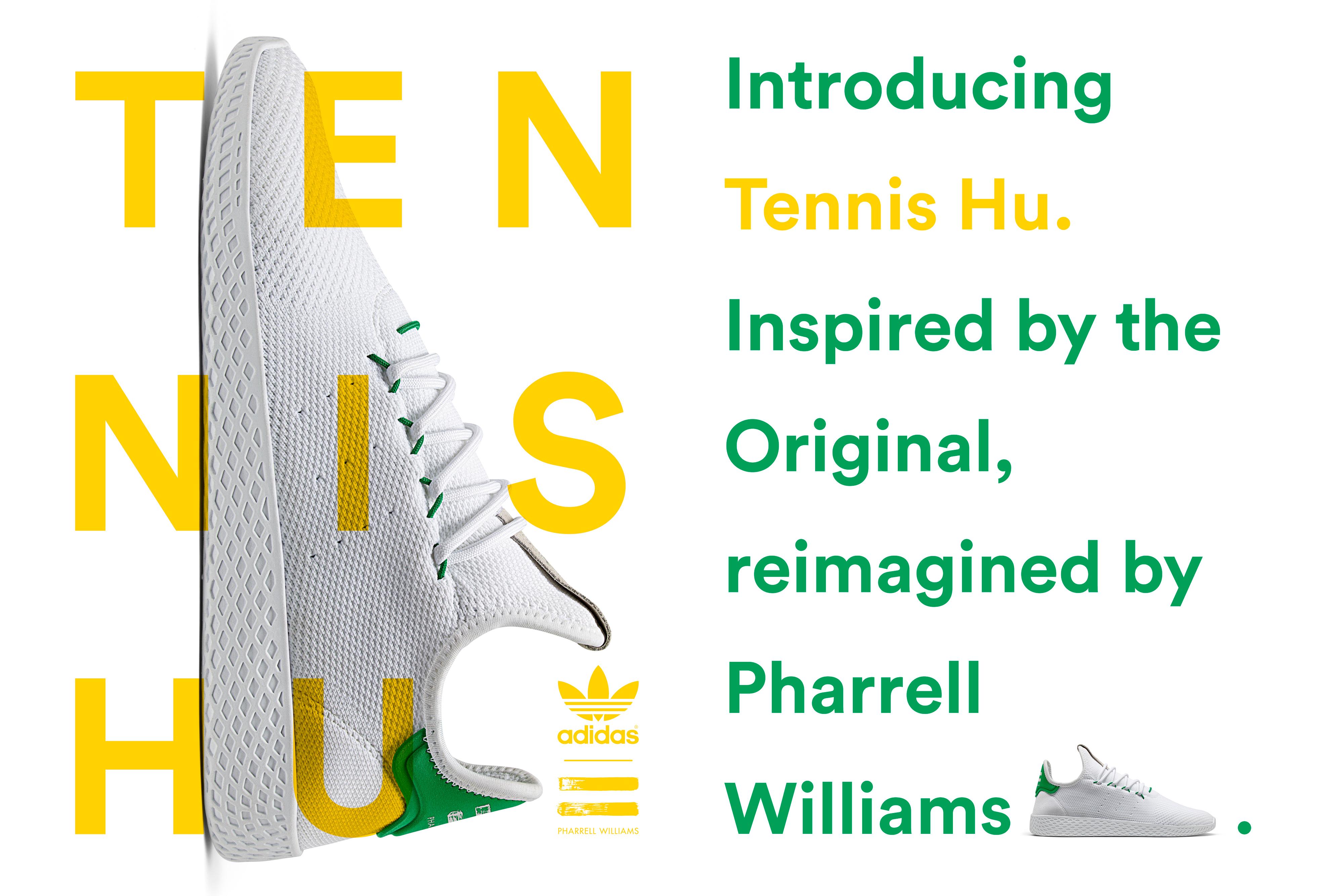 Pharrell Williams, adidas originals, tennis hu, Stan Smith, adidas