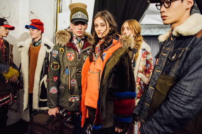 Dsquared2, tommy ton,2017aw fashion, street snap