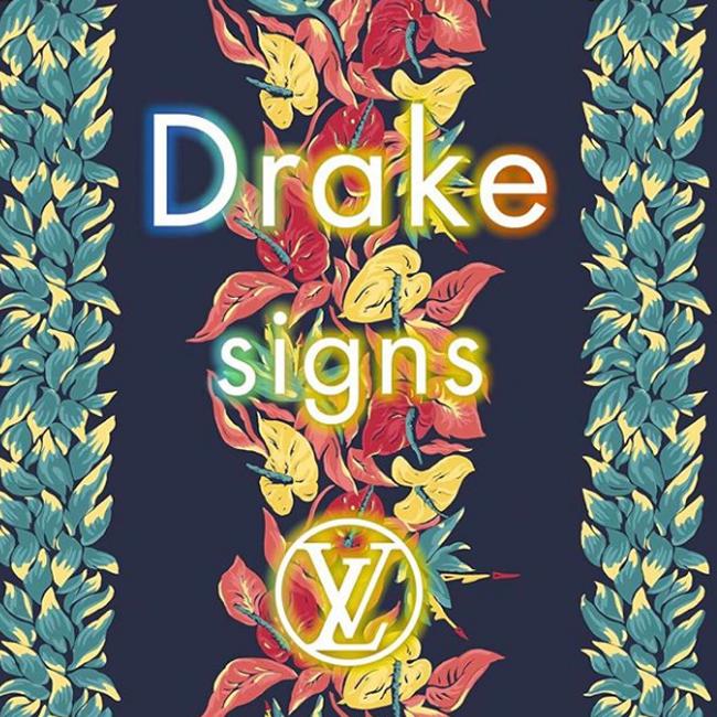 ドレイク, Drake, ルイ・ヴィトン, Louis Vuitton