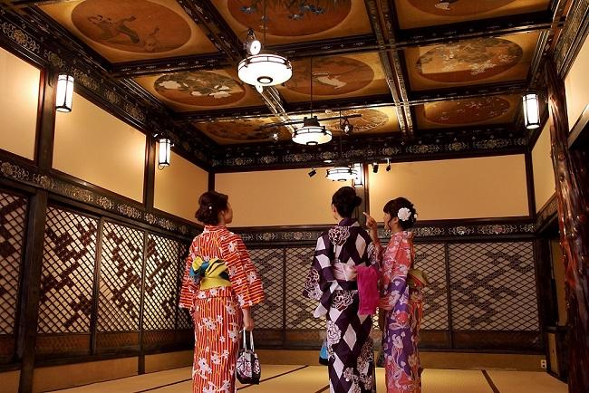 Hotel Gajoen,浴衣で文化財見学&食事プラン,ゆかた,ホテル雅叙園東京