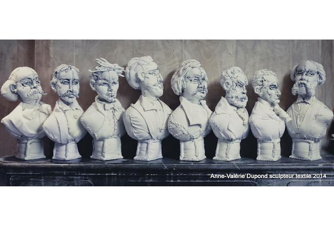 アン・ヴァレリー・デュポン,Anne Valérie Dupond,テキスタイルの彫刻家