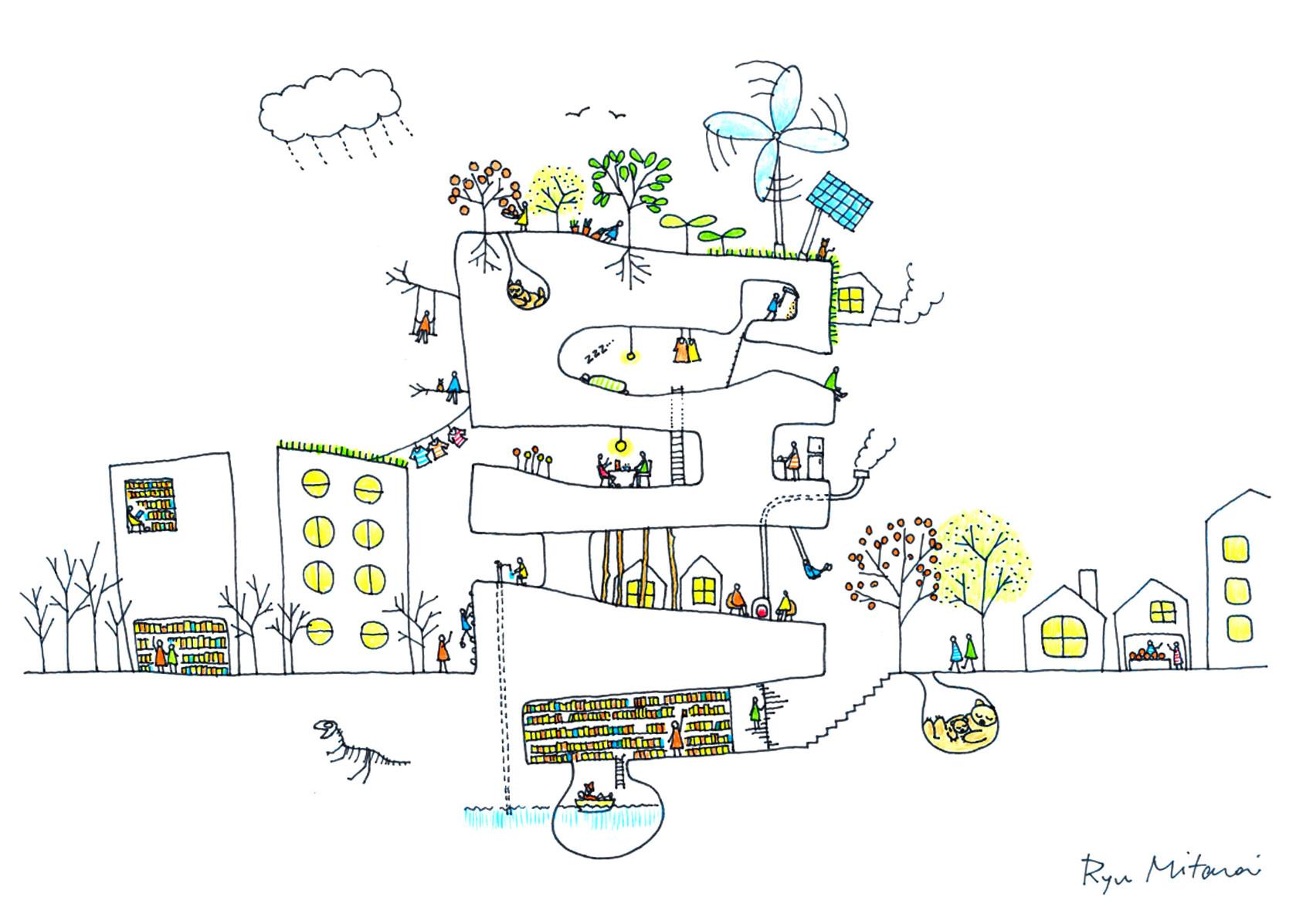 ユメイエ展:日本の若手建築家,田根剛,大西麻貴,百田有希,ユニットo+h,御手洗龍