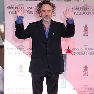 Tim Burton Hand And Footprint Ceremony held at the TCL Chinese Theater in Hollywood, CA on September 8, 2016.