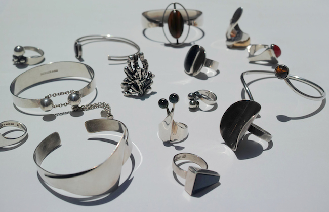 Vintage Jewelry Collection,北欧ジュエリー,ヴィンテージジュエリー
