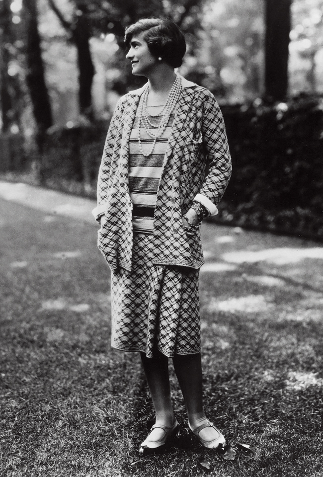 Coco Chanel, UNDATED : Portrait of the young designer, Coco Chanel, 1900-1971 ca.