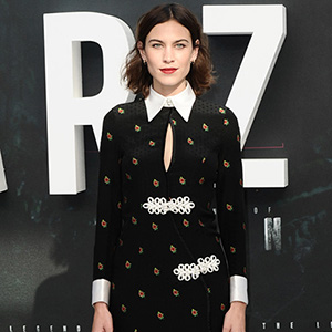 The Legend of Tarzan premiere at Odeon Leicester Square on July 5, 2016 in London, England.  Pictured: Alexa Chung Ref: SPL1311299  050716   Picture by: Splash News  Splash News and Pictures Los Angeles:310-821-2666 New York:212-619-2666 London:870-934-2666 photodesk@splashnews.com