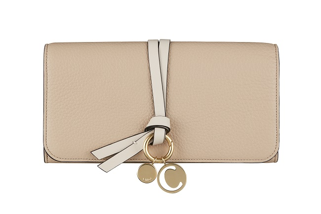 Chloe Omotesando Exclusive Long wallet Beige