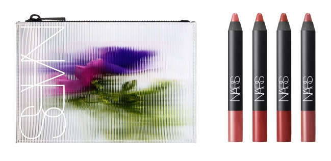 NARS Floral Redux - Tribulation Velvet Matte Lip Pencil Set with Pouch - jpeg2